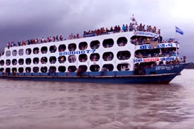 MV Rajdoot 7 Launch