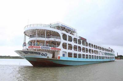 MV Sundarban 10 Launch Details with schedule and ticket price